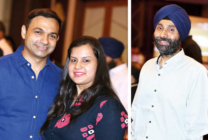 (L) Kanav and Swati Aroura (R) Jasjeev (BCCL/ Aditya Yadav)