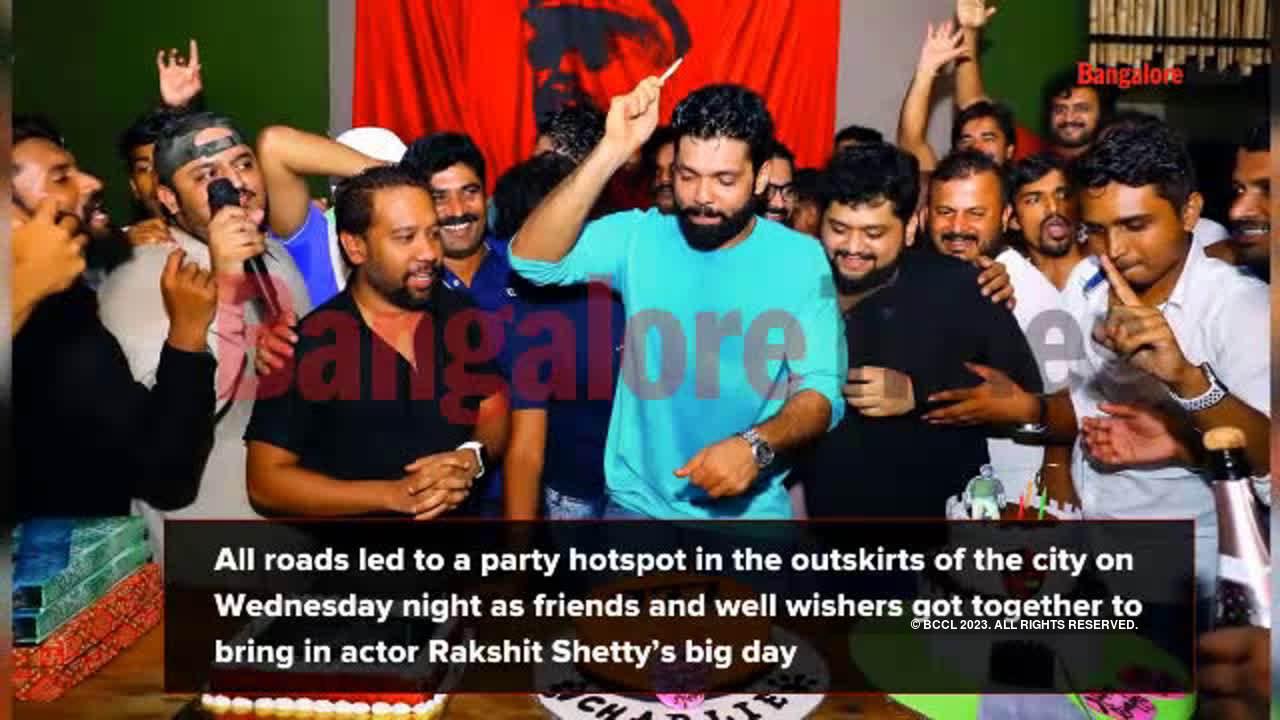 Rakshit has a high-octane birthday blast