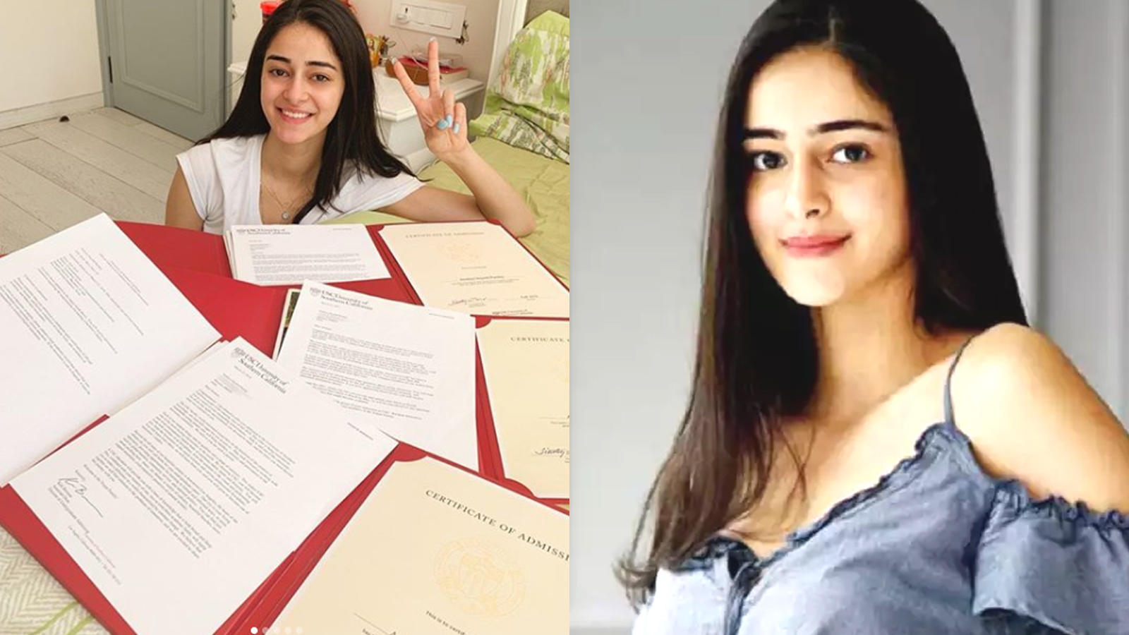 Ananya Panday: Will not be attending university for now