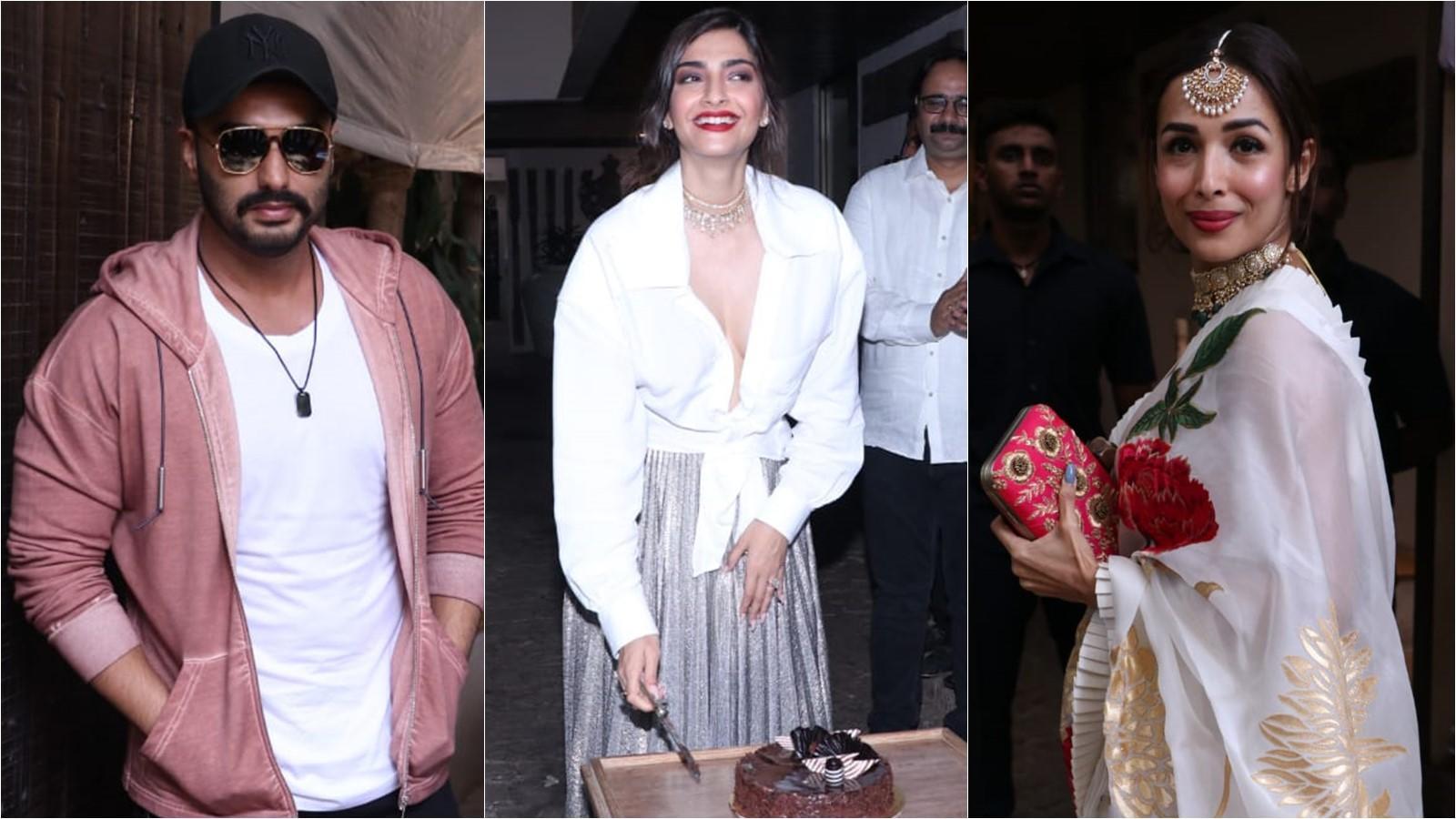 Malaika Arora to Arjun Kapoor: B-town celebs who attended Sonam Kapoor's grand birthday bash!