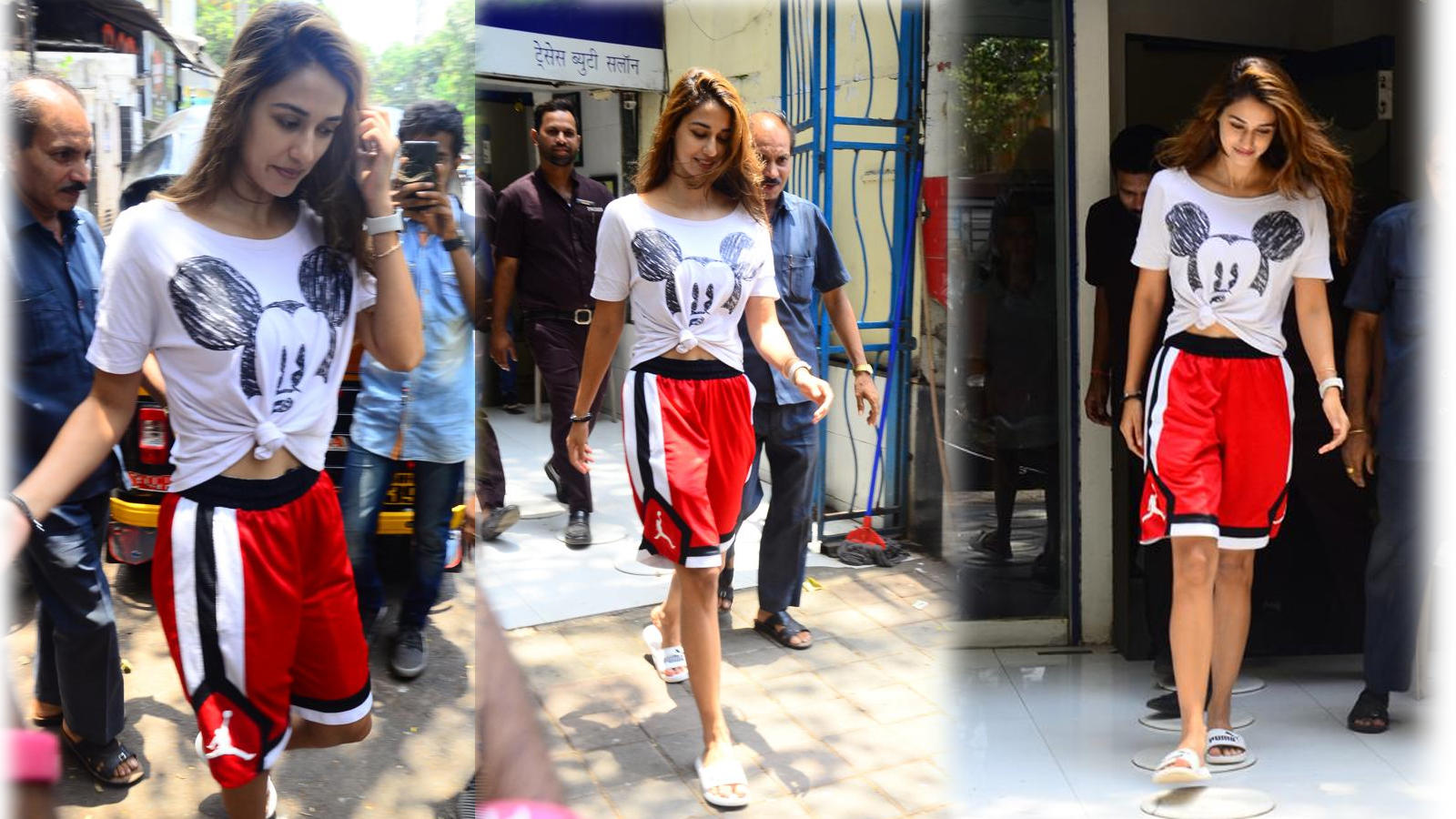 This is how Disha Patani amped up her look even in a simple tee!