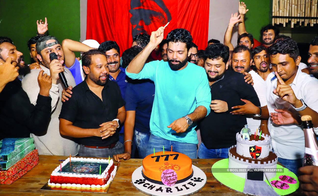 Rakshit Shetty have a high-octane birthday party