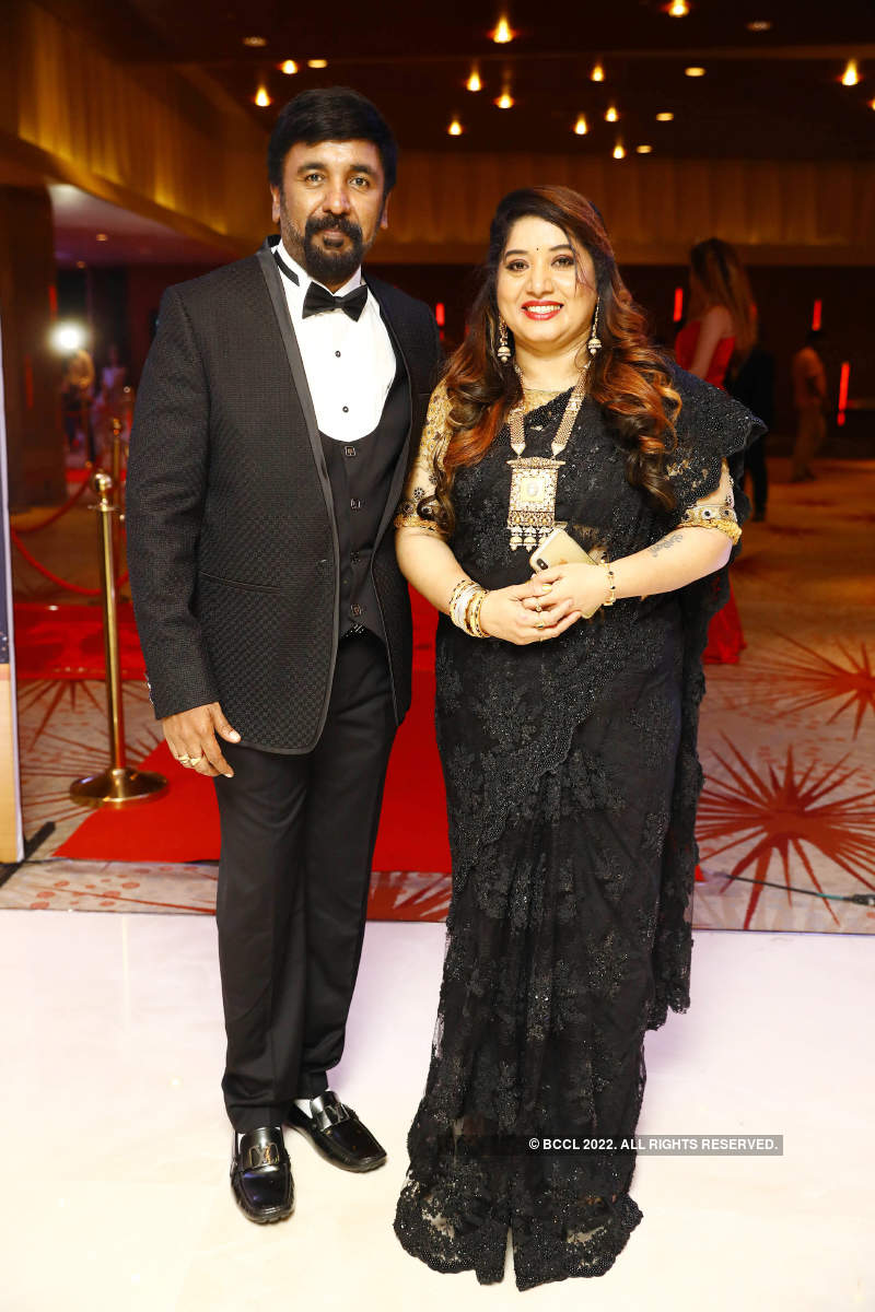 A gala 50th birthday for Soundarya Jagadeesh