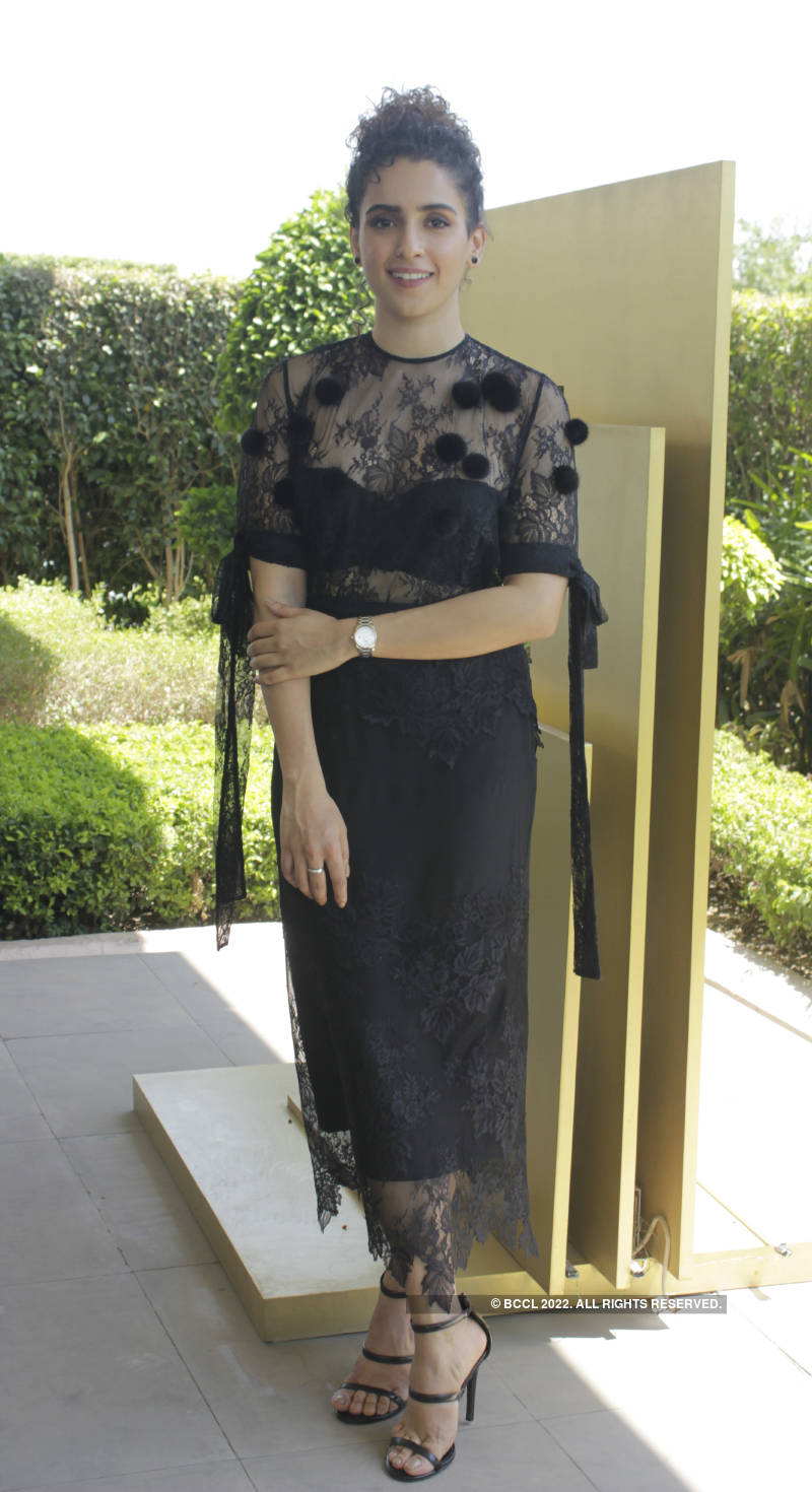 Sanya Malhotra launches new watch collection