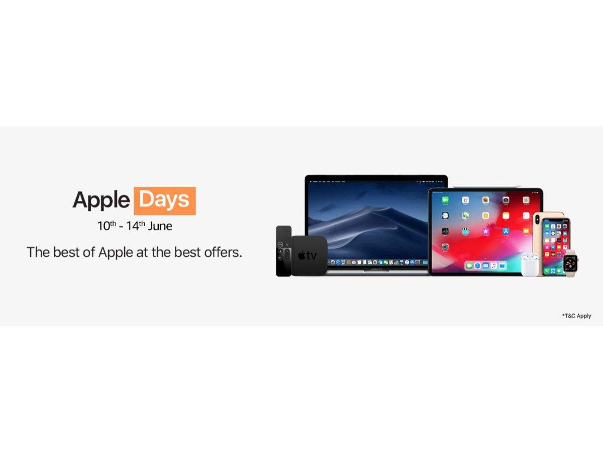 Apple Days on Amazon: Up to Rs 23,000 discount on iPhones, Rs 30,000 discount on MacBooks and Rs 5,500 on Apple Watch