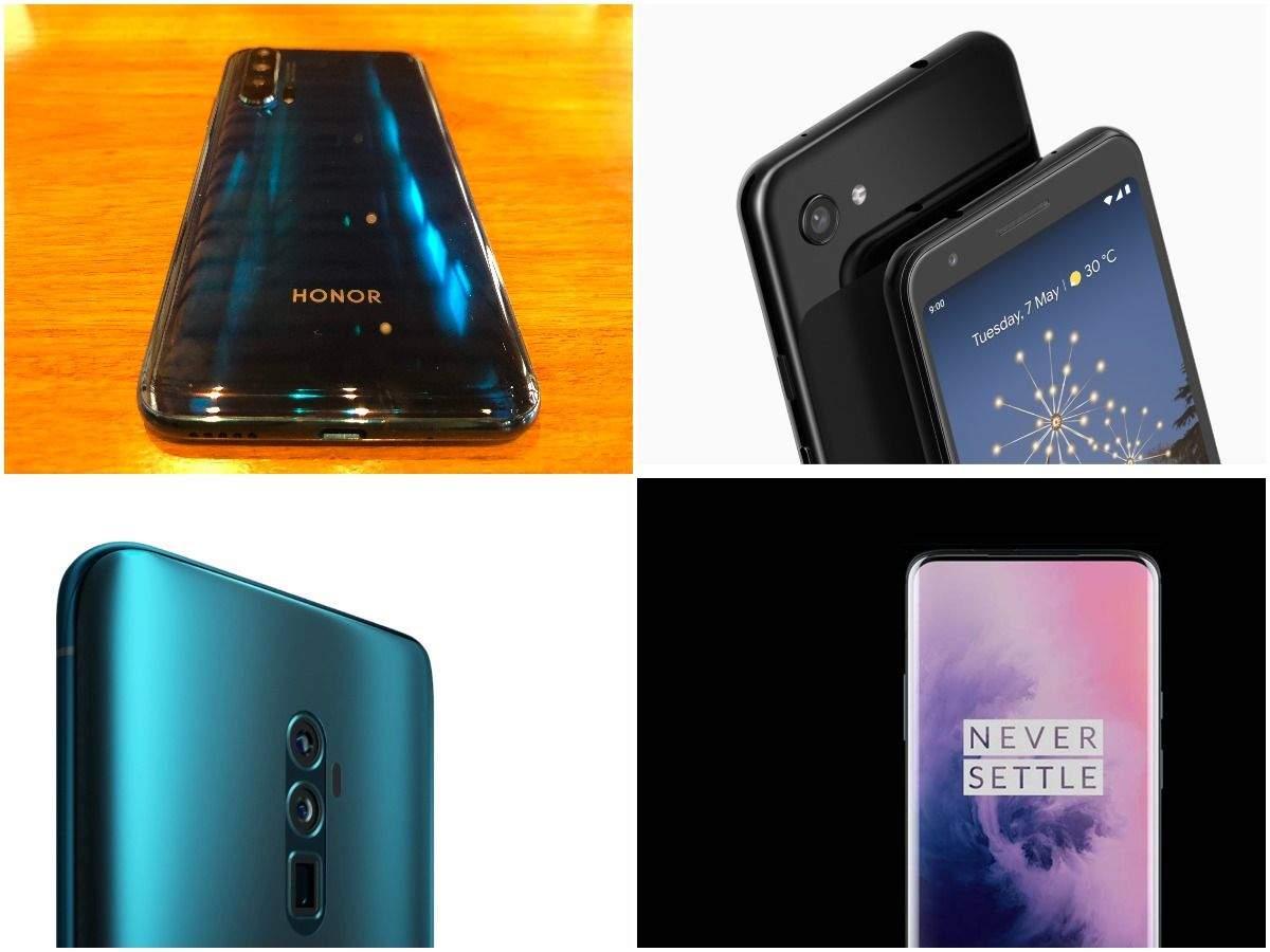 Honor 20 Pro vs OnePlus 7 vs Google Pixel 3a vs Oppo Reno 10X Zoom: Best new smartphone under Rs 40,000