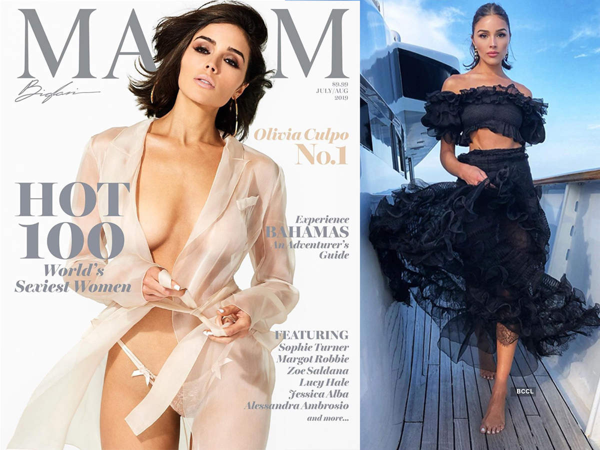 Former beauty queen Olivia Culpo tops Maxim's Hot 100 list this year