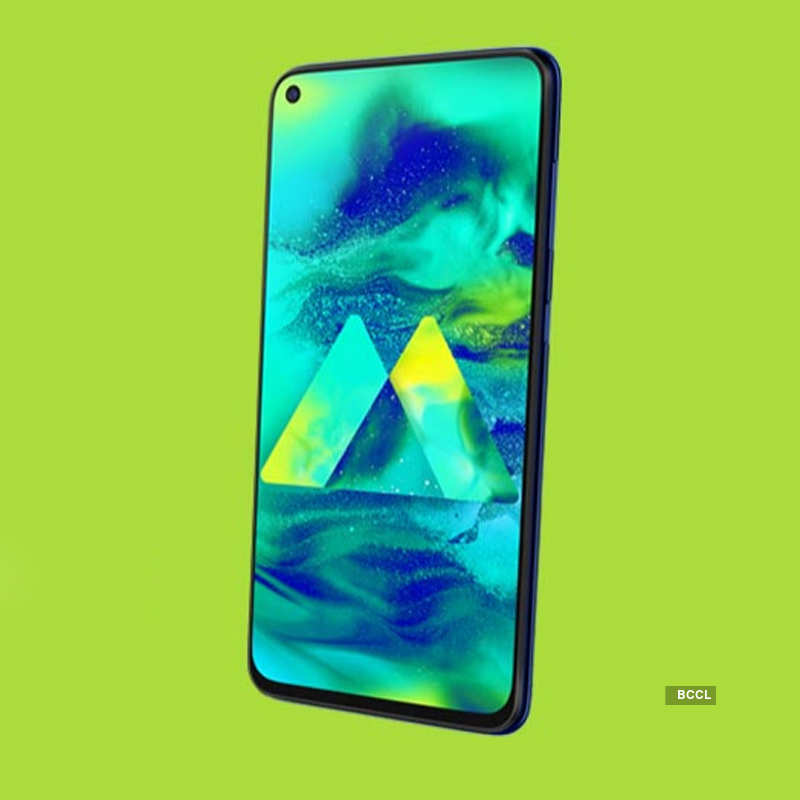 Samsung Galaxy M40 launched in India