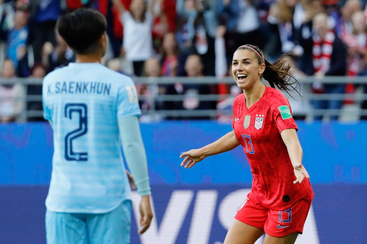 Fifa Women's World Cup: USA's massive 13-0 win over Thailand