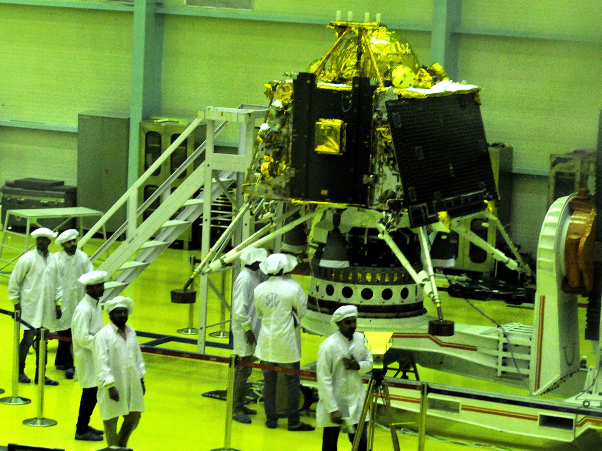Image result for isro chandrayaan 2 latest pic