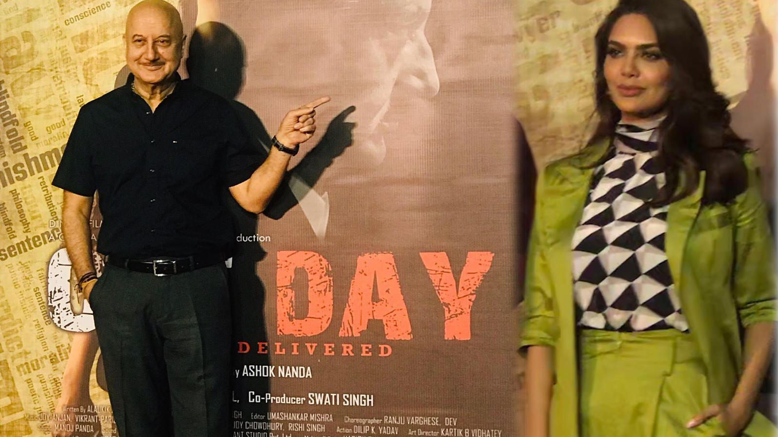 Anupam Kher and Esha Gupta starrer 'One day' to release on June 28