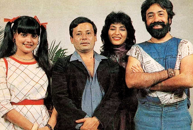 Sushmita recently posted this picture on FB recalling her Karamchand days (BCCL)