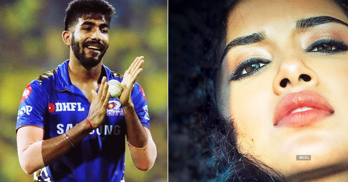 Fast bowler Jasprit Bumrah is dating South actress Anupama Parameswaran?