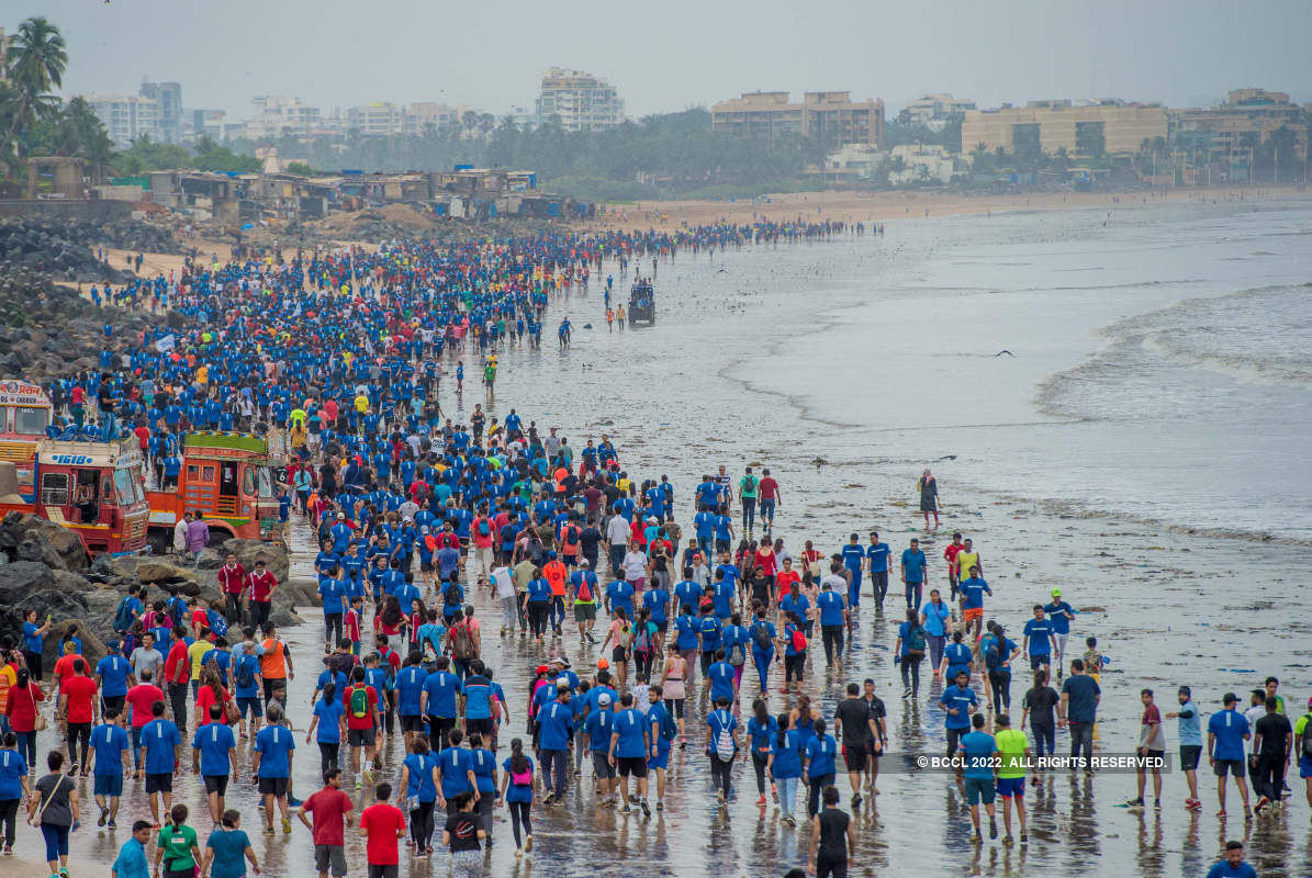 Celebs participate in 'Run for The Oceans 2019' event