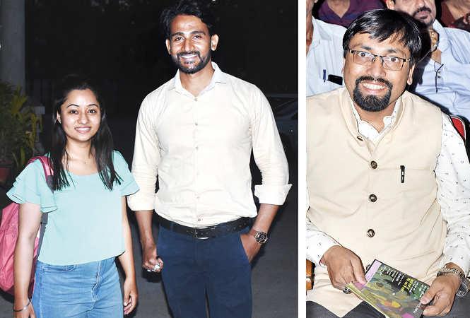 (L) Manisha and Yash Chaurasia (R) Sarvesh Asthana (BCCL/ Vishnu Jaiswal)