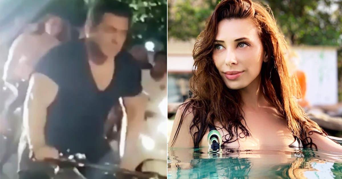 Pictures of Salman Khan enjoying bicycle ride with Iulia Vantur go viral...