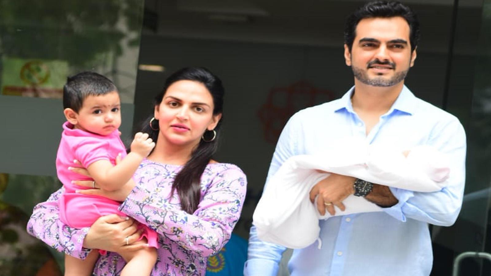 Esha Deol, husband Bharat take their newborn daughter Miraya home!