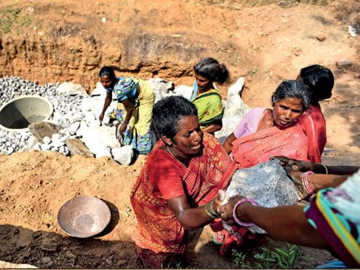 Women in Vellore are bringing back water to arid lands