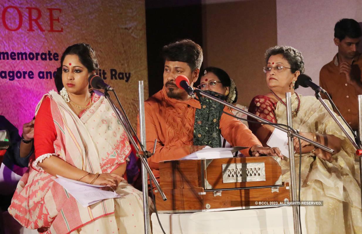 Musicians celebrate the birth anniversaries of Rabindranath Tagore and Satyajit Ray
