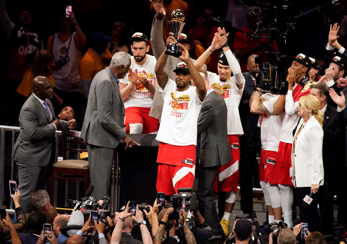 Toronto Raptors claim first NBA title in franchise history