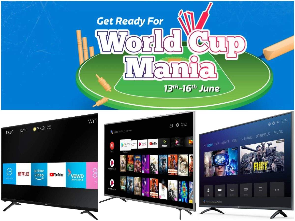 World Cup 2019: 15 smartTVs from Samsung, Xiaomi and others selling at a discount of up to 50% on Flipkart