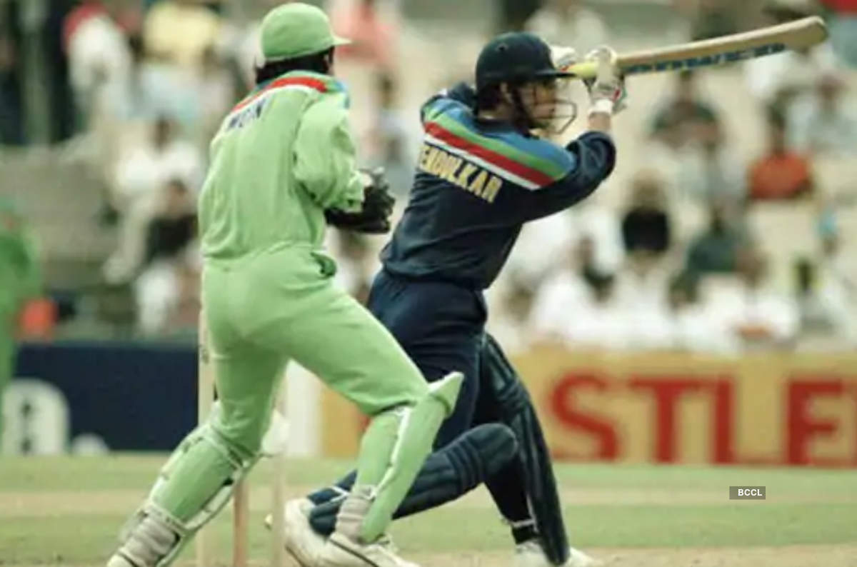 Iconic photos from India vs Pakistan World Cup matches | Photogallery -  ETimes