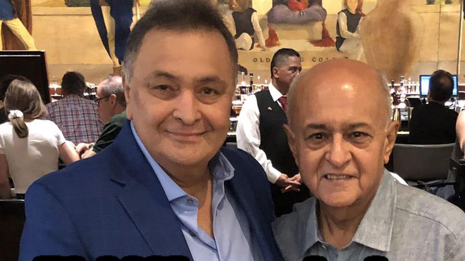 Rishi Kapoor looks fitter and better in the latest picture