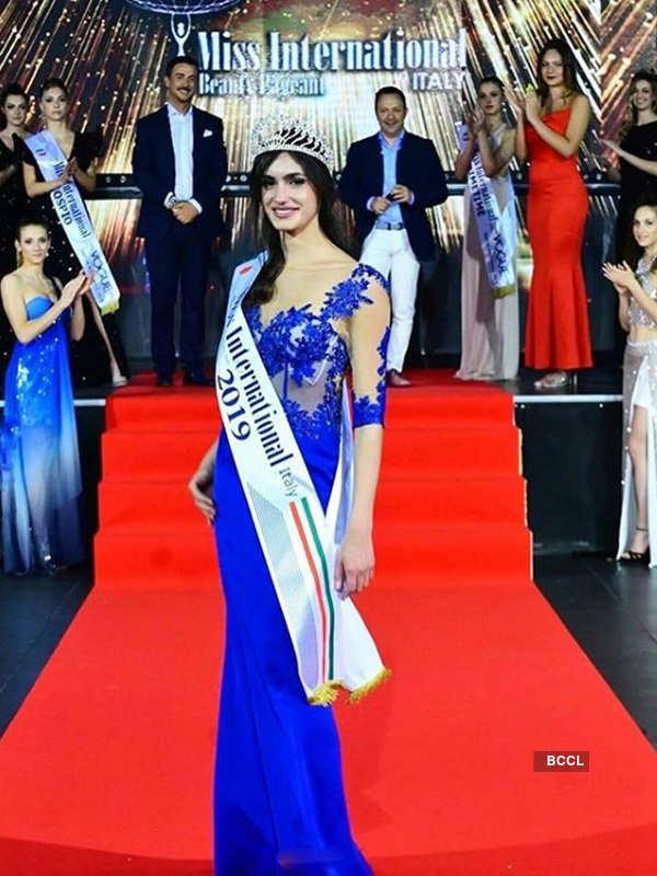 Francesca Giordano crowned Miss International Italy 2019
