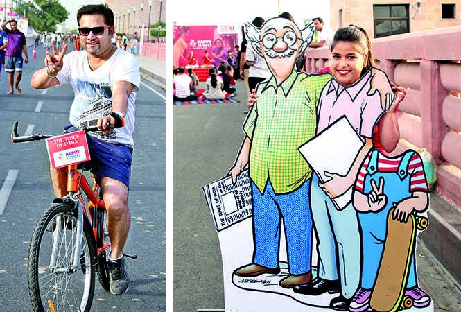 (L) Amit Bhatnagar (R) Meena (BCCL/ Aditya Yadav)