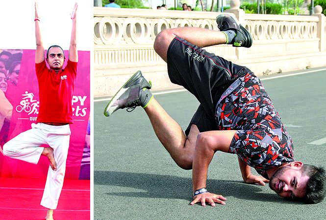 (L) Mohit Singh (R) SK Mintu (BCCL/ Aditya Yadav)