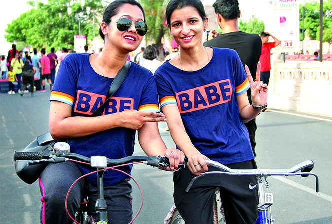 Vancy (L) and Sakshi (BCCL/ Aditya Yadav)
