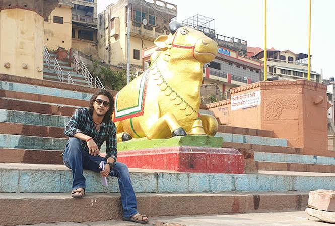 Kinshuk Vaidya in Varanasi (BCCL)