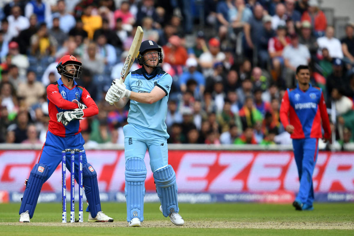 ICC World Cup 2019: Eoin Morgan hits 17 sixes against Afghanistan