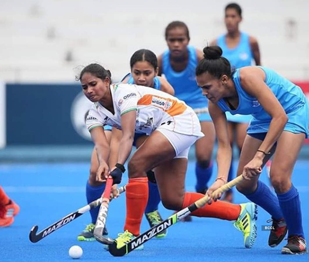 Indian women's hockey team beat Fiji 11-0