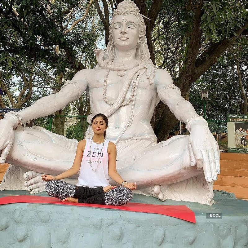 International Yoga Day 2019: Celebrities who love 'Yoga'