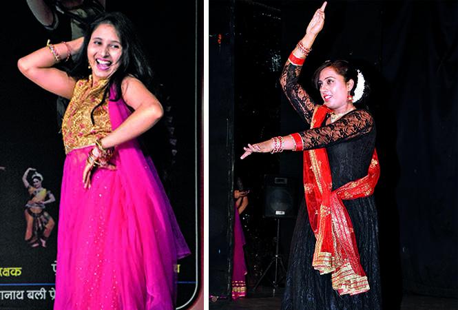 (L) Deepa Awasthi (R) Neha Shukla (BCCL/ Farhan Ahmad Siddiqui)