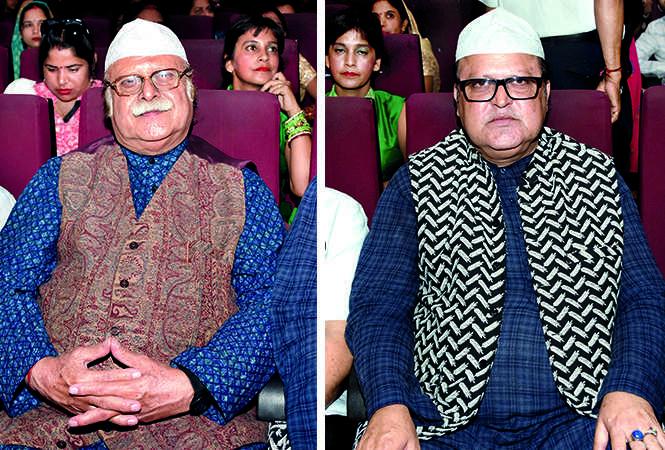 (L) Nawab Jafar Mir Abdullah (R) Nawab Masood Abdullah (BCCL/ Farhan Ahmad Siddiqui)