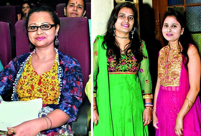 (L) Nivedita Banerjee (R) Rupam and Deepa Awasthi (BCCL/ Farhan Ahmad Siddiqui)