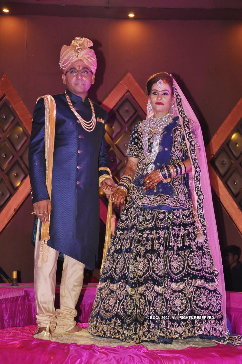 Wedding vows for Abhishek and Vandana Shukla