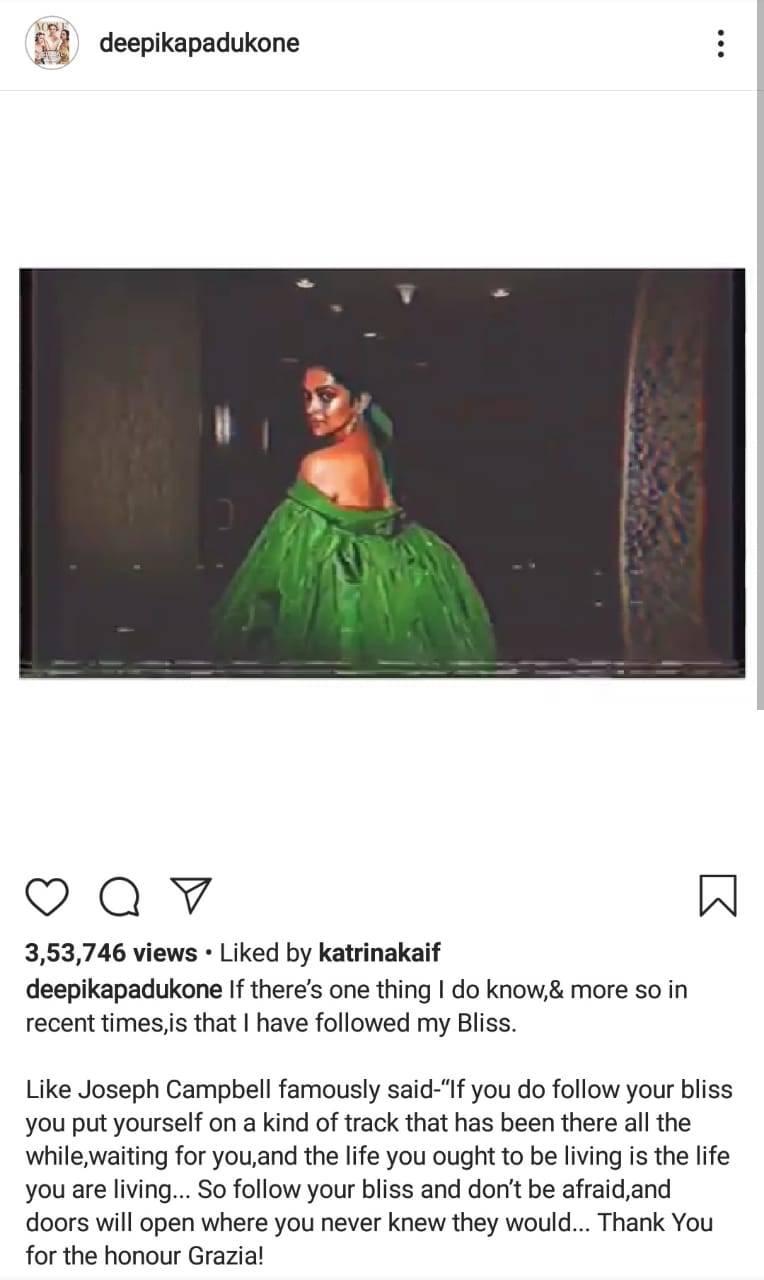 Kat Deepika.
