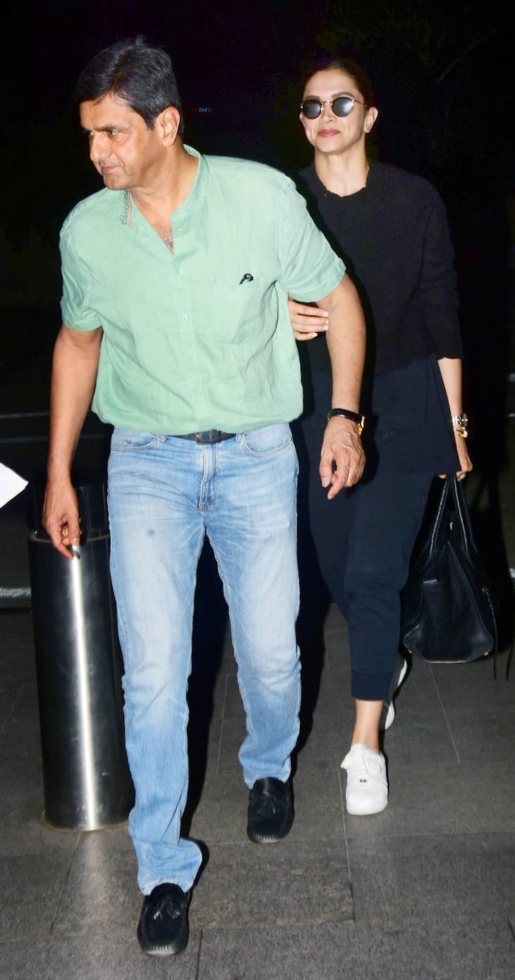 Photos: Deepika Padukone and her father Prakash Padukone ...