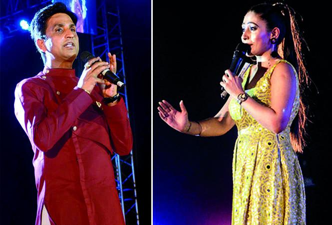 (L) Kumar Vishwas (R) Reshma (BCCL/ Pankaj Singh)