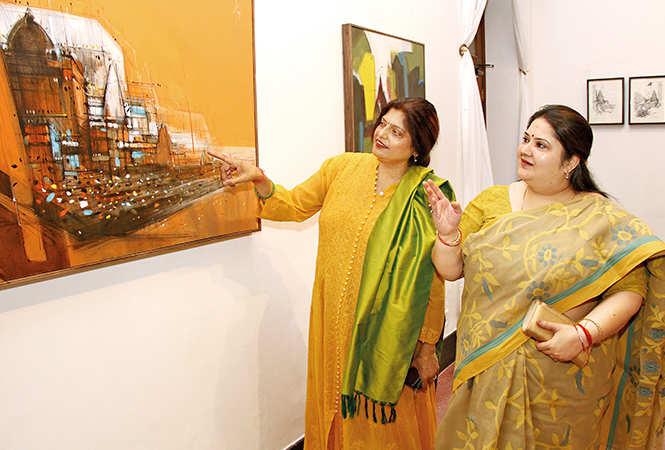 Dr Nidhi Johri (L) and Rachana Tripathi (BCCL/ Aditya Yadav)