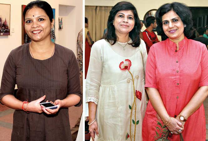 (L) Priya (R) Roma Agarwal and Mamta Gautam (BCCL/ Aditya Yadav)