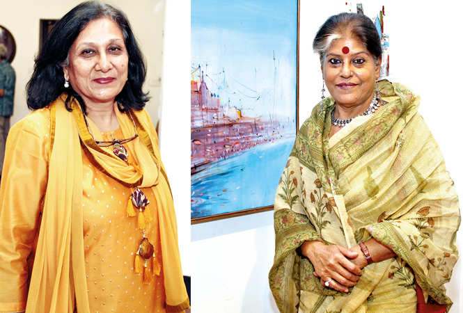 (L) Rashmi Vaid (R) Runa Banerjee (BCCL/ Aditya Yadav)