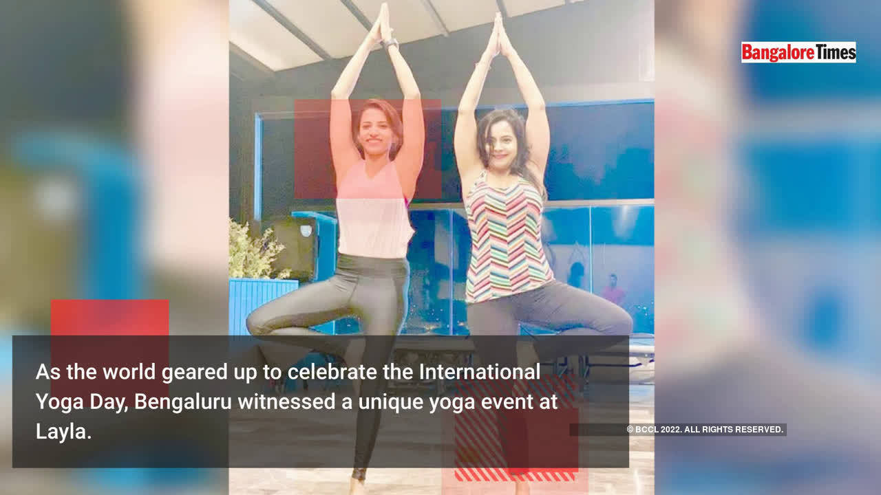 An evening celebrating health and fitness