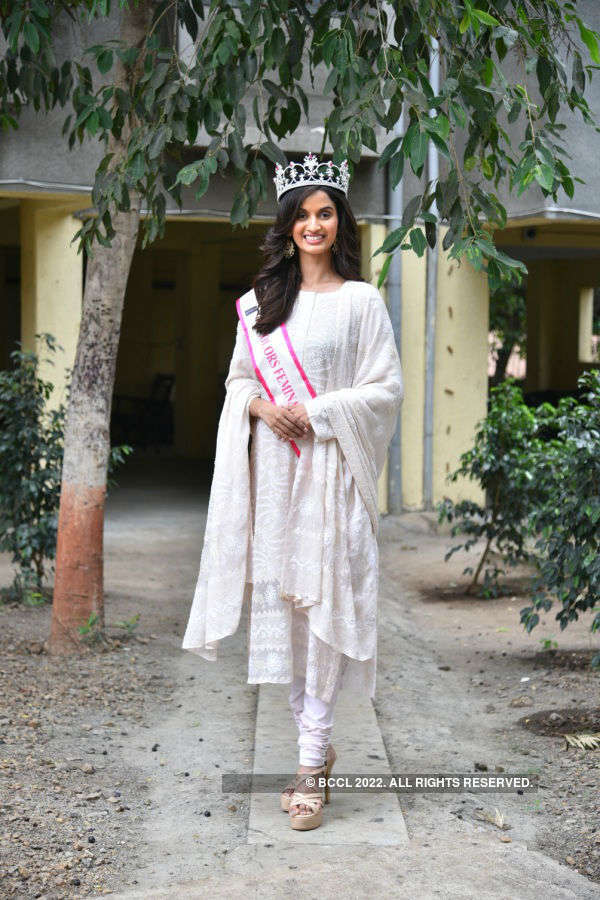 Femina Miss Grand India 2019 Shivani Jadhav's Grand Homecoming