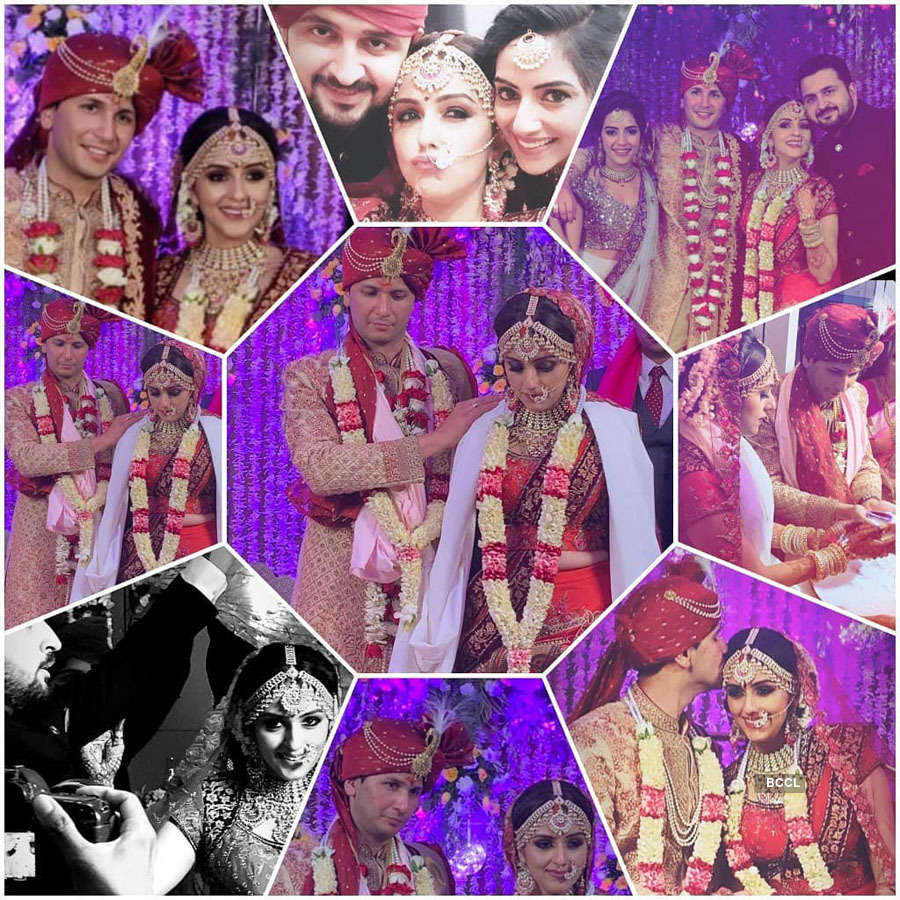 Aarti Chabria weds CA Visharad Beedassy