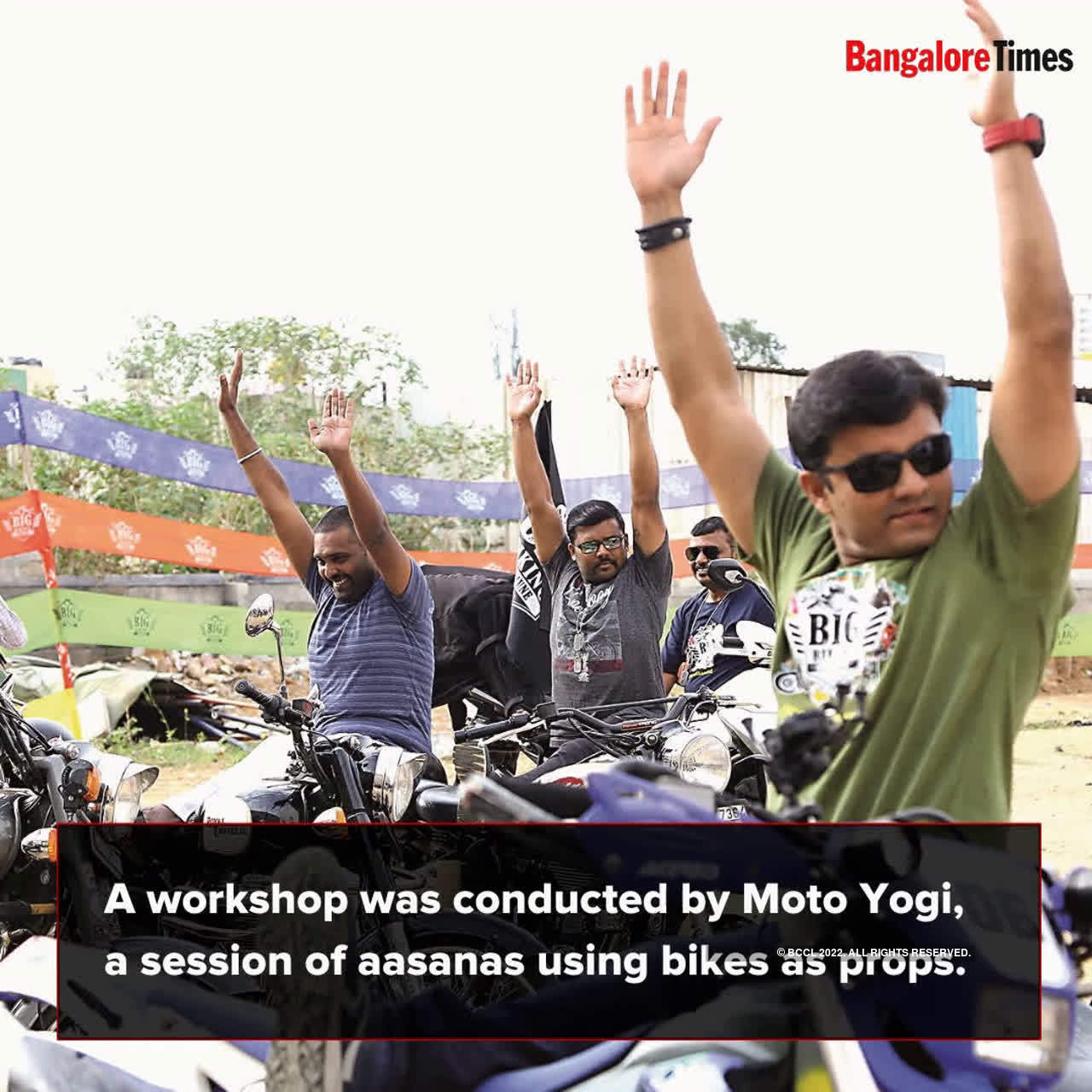 Bengalureans try yoga on wheels