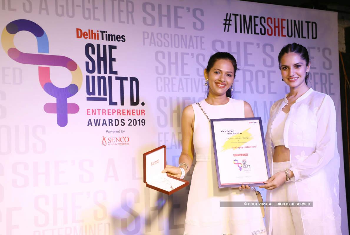 Delhi Times She UnLTD Entrepreneur Awards 2019